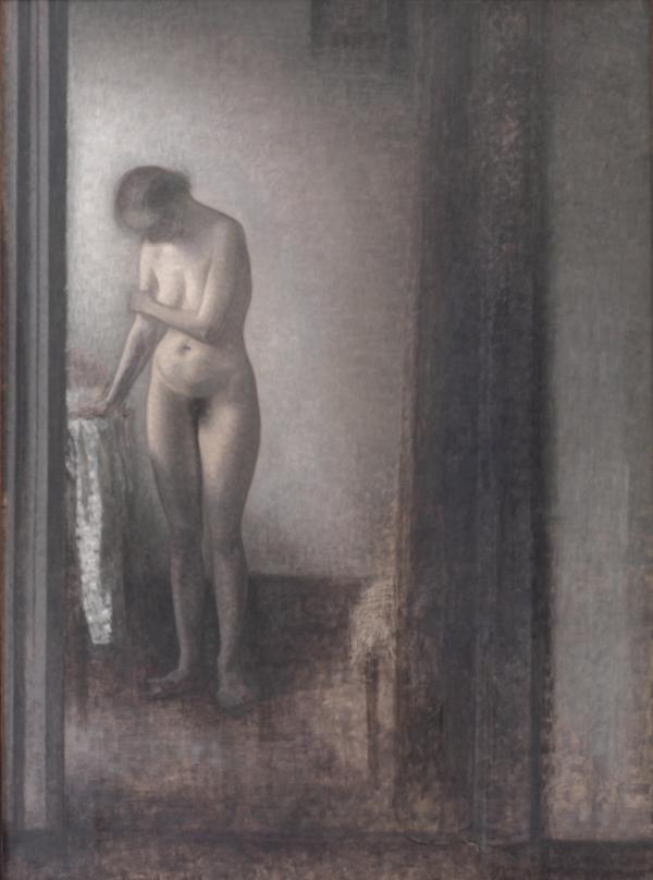 kunst klasse nøgen modeller